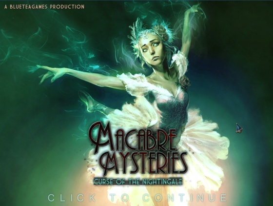 Macabre Mysteries: Curse of the Nightingale - Collectors Edition - полная версия
