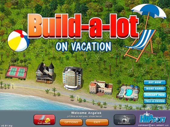 Build-a-lot 6: On Vacation - полная версия