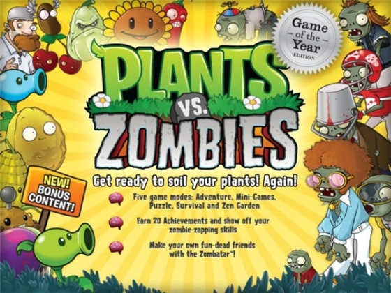 Plants vs. Zombies Game of the Year Edition (Rus) - полная русская версия