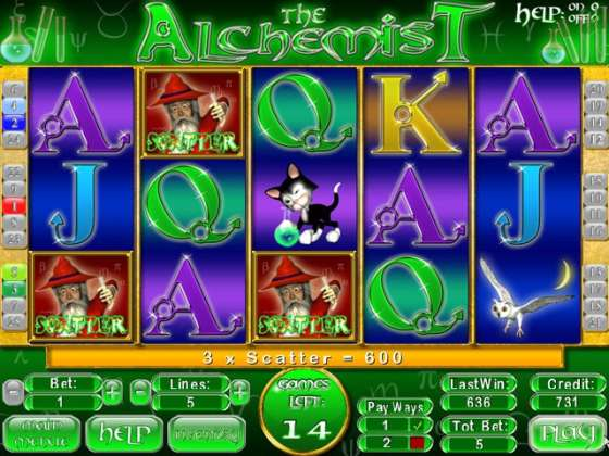 The Alchemist Slots - полная версия