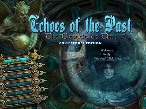 Echoes of the Past: The Citadels of Time Collector's Edition - полная версия