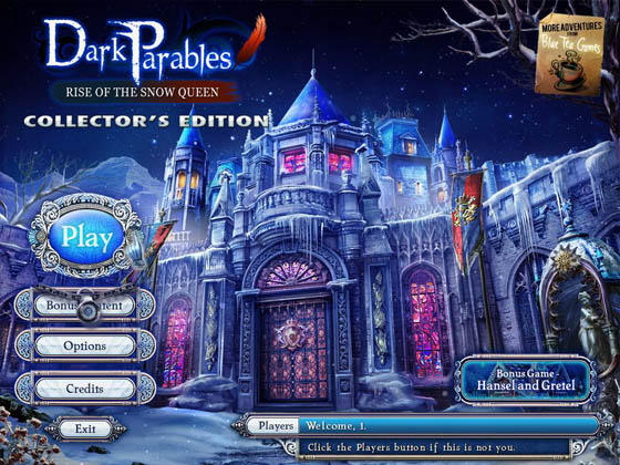 Dark Parables: Rise of the Snow Queen Collector's Edition - полная версия