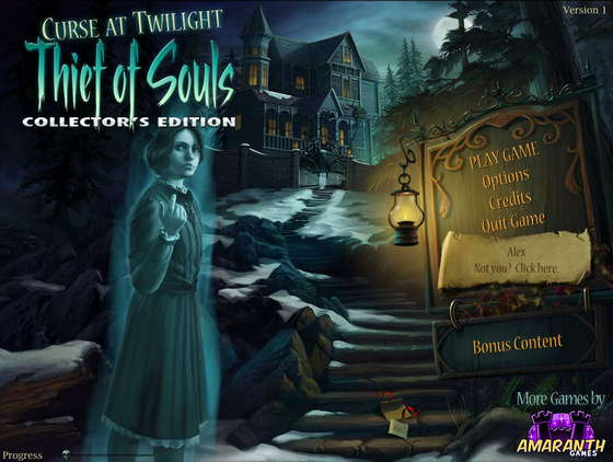 Curse at Twilight: Thief of Souls Collector's Edition - полная версия
