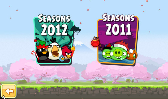 Angry Birds Seasons 2.3.0 - полная версия