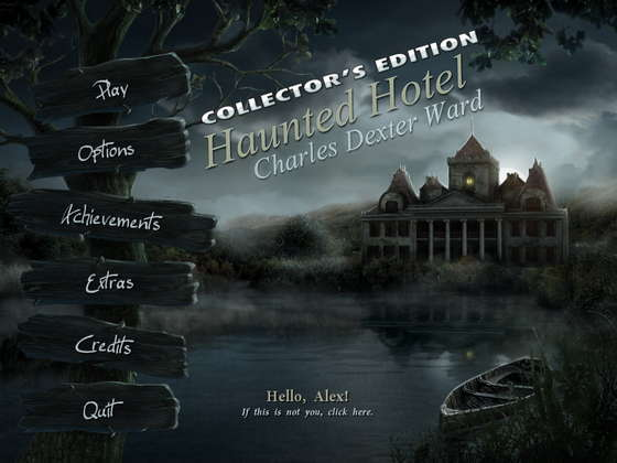 Haunted Hotel 4: Charles Dexter Ward Collector's Edition (2012) - полная версия