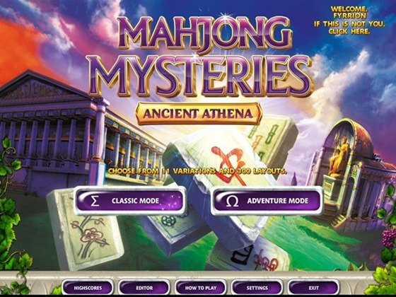 Mahjong Mysteries: Ancient Athena (2012) - полная версия
