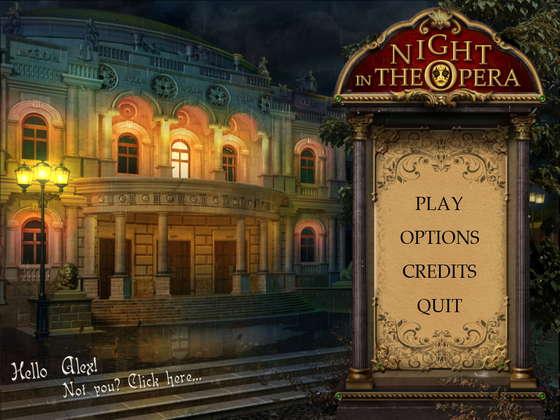 Night In The Opera (2012) - полная версия