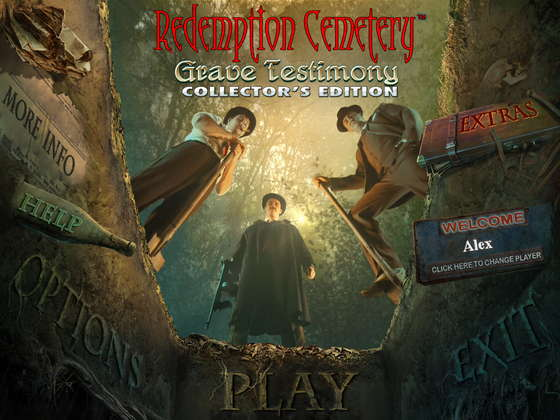 Redemption Cemetery 3: Grave Testimony Collector's Edition (2012) - полная версия