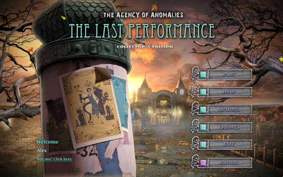 The Agency of Anomalies 3: The Last Performance Collector's Edition (2012) - полная версия