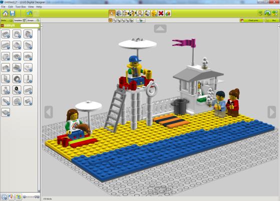 LEGO Digital Designer 4.3.5 - полная версия