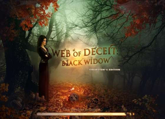 Web of Deceit: Black Widow Collector's Edition (2012) - полная версия