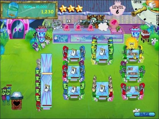 SpongeBob SquarePants Diner Dash. 2 в 1 - полная версия