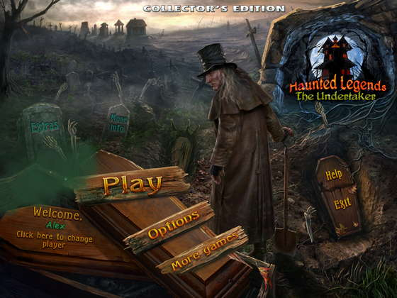 Haunted Legends 3: The Undertaker Collector's Edition (2012) - полная версия