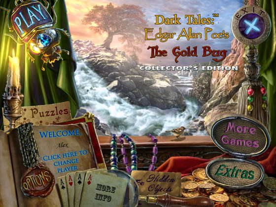 Dark Tales 4: Edgar Allan Poe's The Gold Bug Collector's Edition (2013) - полная версия