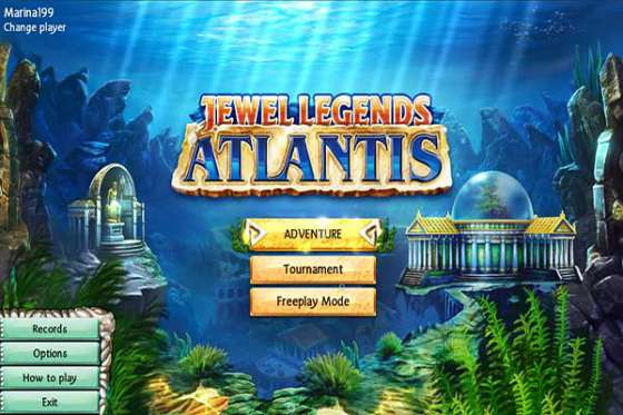 Jewel Legends. Atlantis (2013) - полная версия