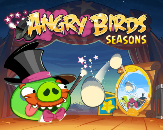 Angry Birds Seasons 3.3.0 (2013) - полная версия