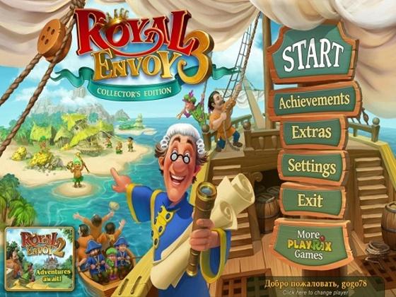 Royal Envoy 3 Collector's Edition (2014/Rus) - полная русская версия