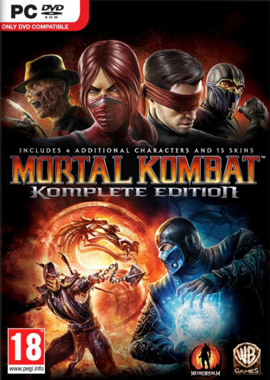 Mortal Kombat: Komplete Edition (2013/Portable)