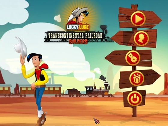 Lucky Luke: Transcontinental Railroad Builders (2014) - полная версия