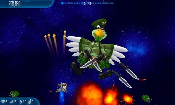 Chicken Invaders 5: Cluck of the Dark Side (2014) - полная версия