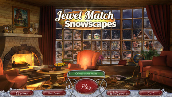 Jewel Match Snowscapes (2014) - полная версия