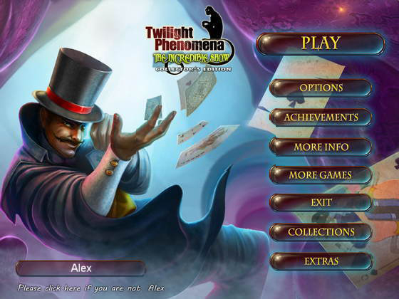 Twilight Phenomena 3: The Incredible Show Collector's Edition (2015) - полная версия