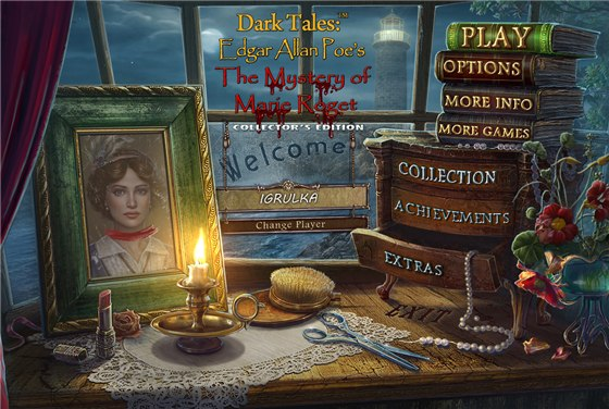 Dark Tales 7: Edgar Allan Poe's The Mystery of Marie Roget Collector's Edition (2015) - полная версия