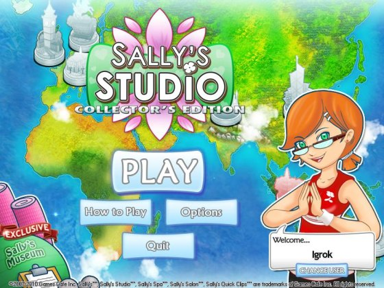 Sally's Studio Collector's Edition - полная версия