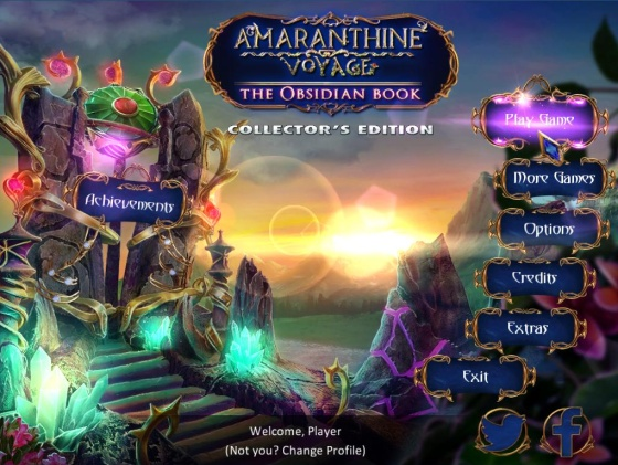Amaranthine Voyage 4: The Obsidian Book Collector's Edition (2015) - полная версия