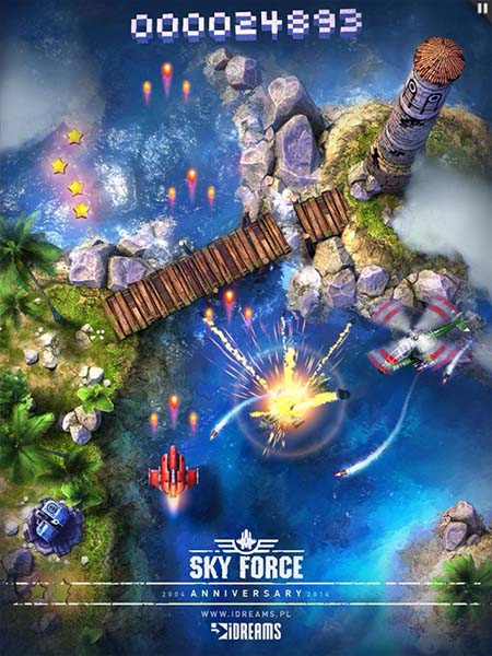 Sky Force Anniversary (2015) - полная версия