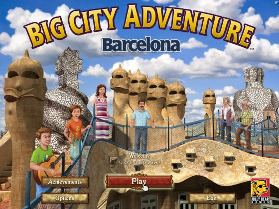 Big City Adventure: Barcelona (2015) - полная версия