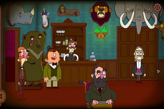 Adventures of Bertram Fiddle. Episode 1: A Dreadly Business (2015) - полная версия