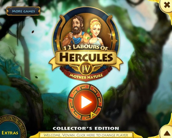 12 Labours of Hercules 4: Mother Nature Collectors Edition (2015) - полная версия
