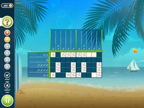Японские кроссворды. Пляж (2015) - полная версия