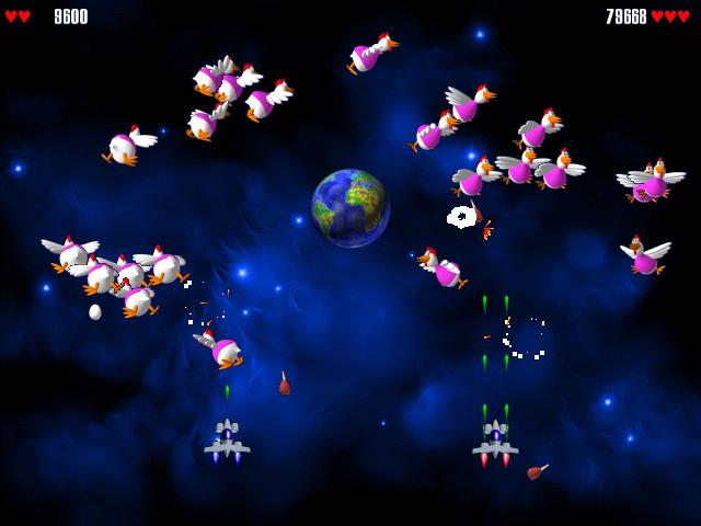 игры chicken invaders 2 играть онлайн
