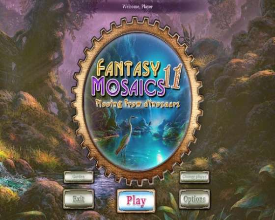 Fantasy Mosaics 11: Fleeing from Dinosaurs (2015) - полная версия
