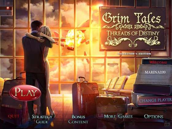 Grim Tales 9: Threads of Destiny Collector's Edition (2015) - полная версия