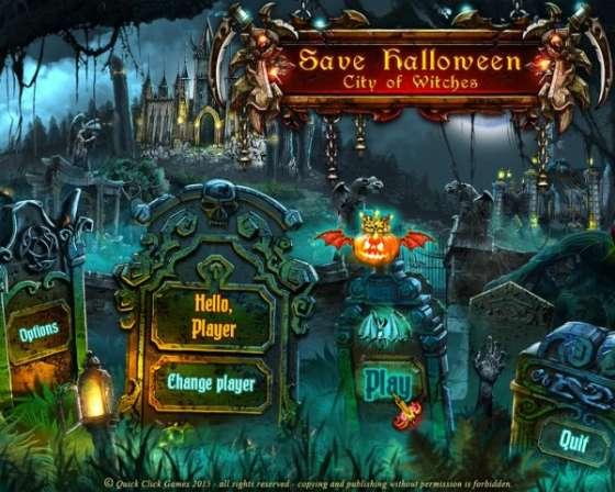 Save Halloween: City of Witches (2015) - полная версия