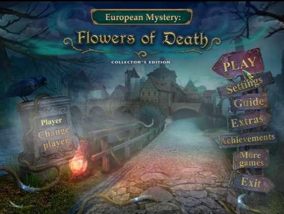 European Mystery 3: Flowers of Death Collectors Edition (2015) - полная версия