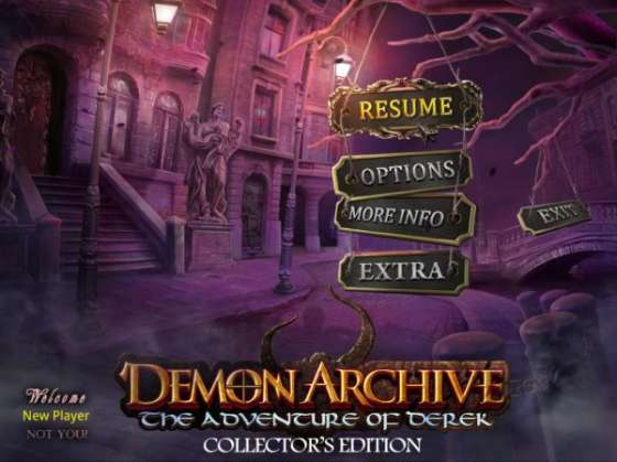 Demon Archive: The Adventures of Derek Collector's Edition (2015) - полная версия