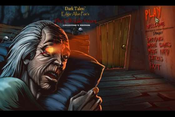 Dark Tales 8: Edgar Allan Poe's The Tell-Tale Heart Collectors Edition (2015) - полная версия