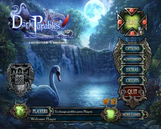 Dark Parables 11: The Swan Princess And The Dire Tree Collectors Edition (2016) - полная версия