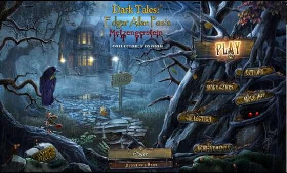 Dark Tales 9: Edgar Allan Poes Metzengerstein Collectors Edition (2016) - полная версия