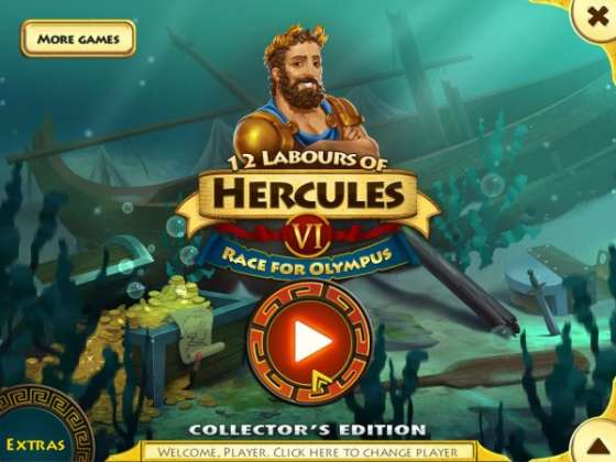 12 Labours of Hercules 6: Race for Olympus Collectors Edition (2016) - ������ ������