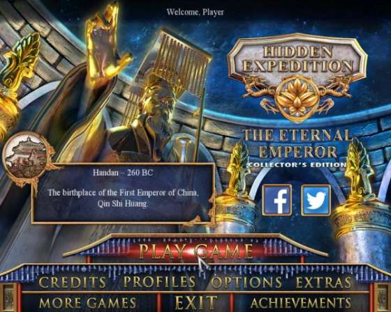 Hidden Expedition 12: The Eternal Emperor Collectors Edition (2016) - полная версия