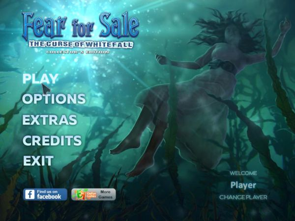 Fear For Sale 11: The Curse of Whitefall Collector's Edition (2017) - полная версия