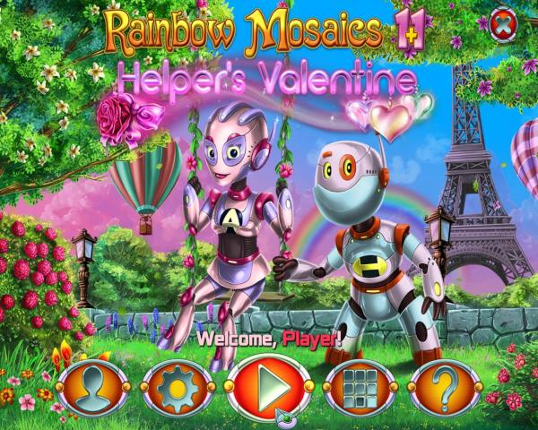 Rainbow Mosaics 11: Helper's Valentine (2019) - полная версия