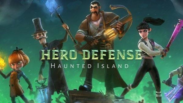 Hero Defense: Haunted Island (2019) - полная версия на русском
