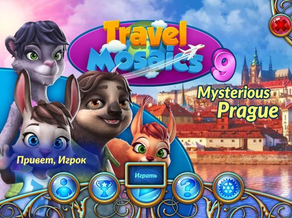 Travel Mosaics 9: Mysterious Prague (2019) - полная версия на русском