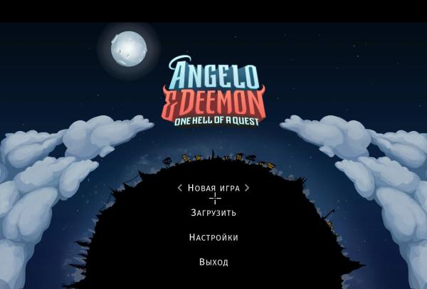 Angelo and Deemon: One Hell of a Quest (2019) - полная версия на русском